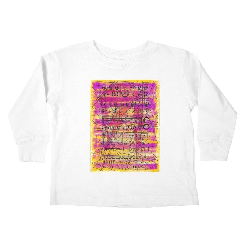 Hifidelity Kids Toddler Longsleeve T-Shirt by bulo