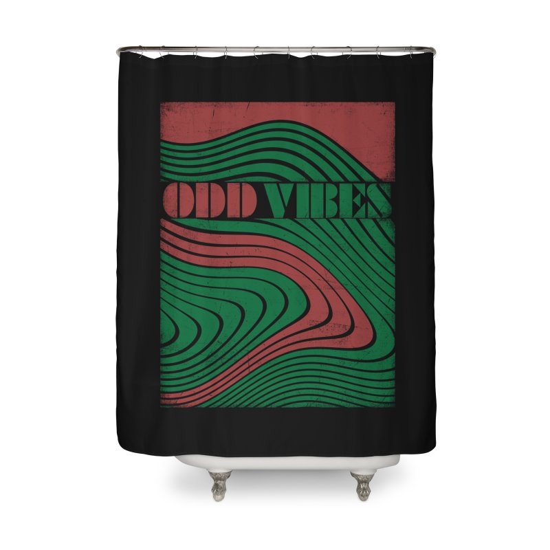 Odd vibes Home Shower Curtain by bulo