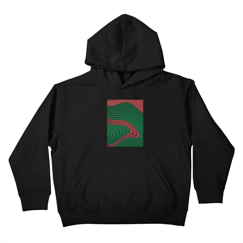 Odd vibes Kids Pullover Hoody by bulo