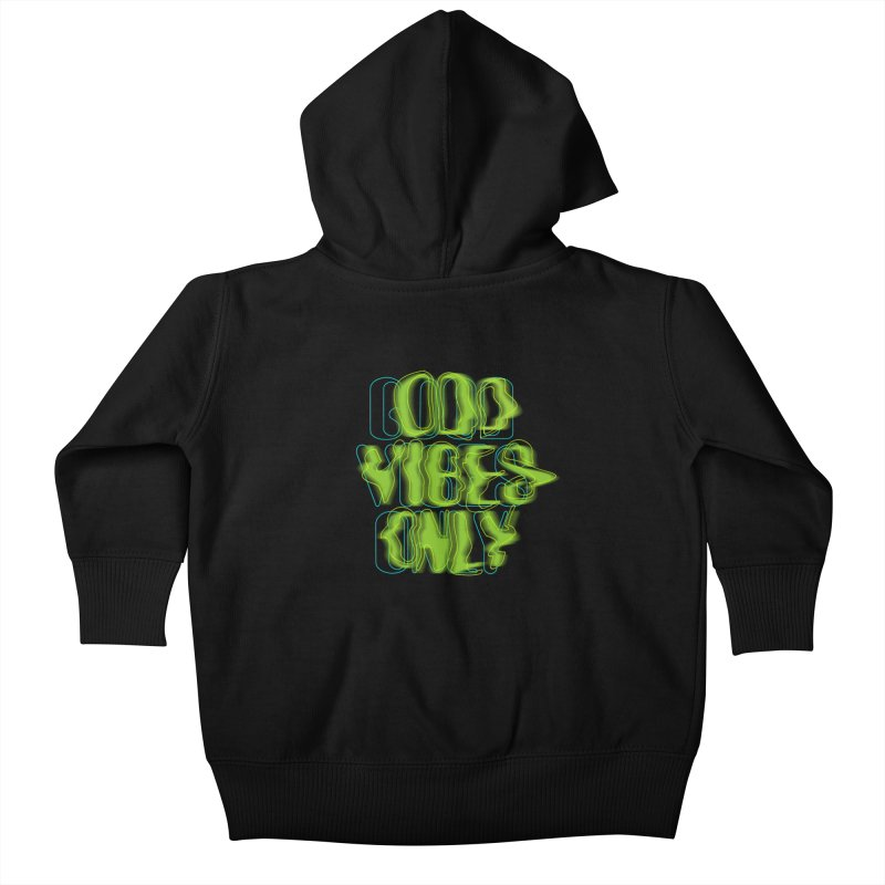 Odd vibes only Kids Baby Zip-Up Hoody by bulo