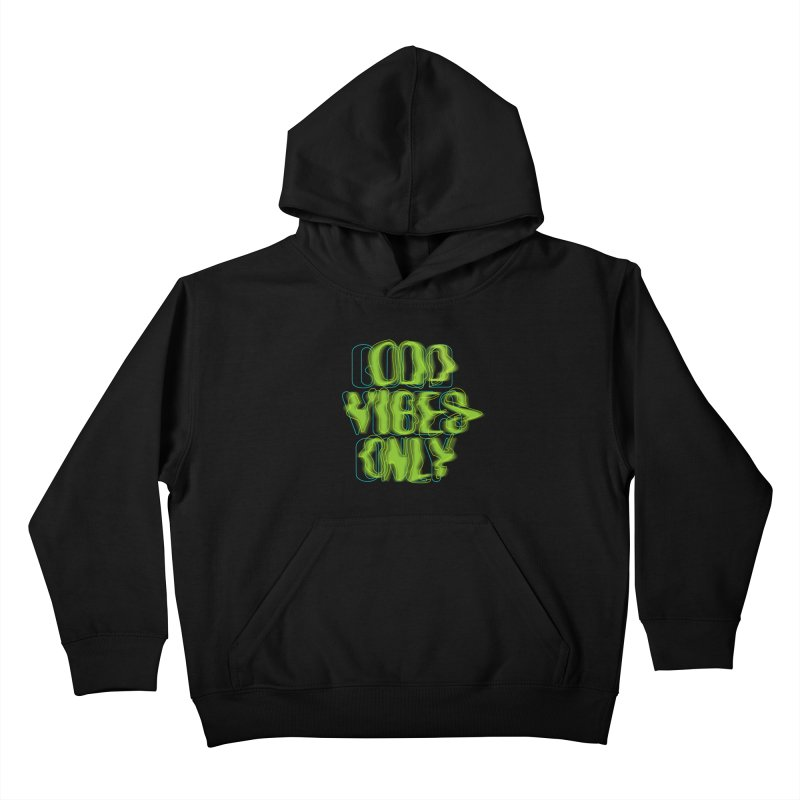 Odd vibes only Kids Pullover Hoody by bulo