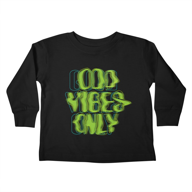 Odd vibes only Kids Toddler Longsleeve T-Shirt by bulo