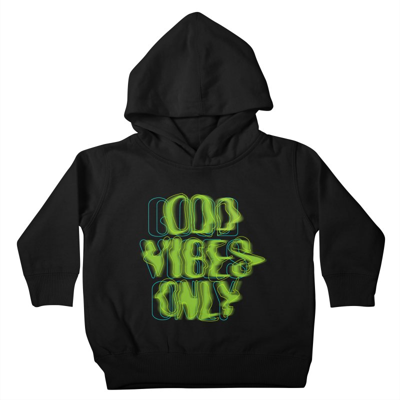 Odd vibes only Kids Toddler Pullover Hoody by bulo