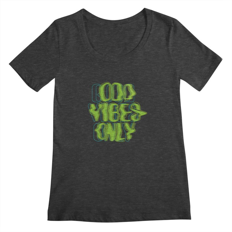 Odd vibes only Women's Scoopneck by bulo