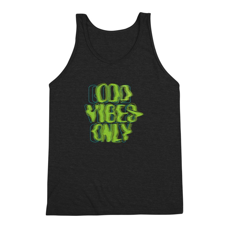 Odd vibes only Men's Triblend Tank by bulo