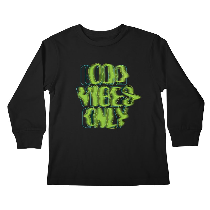 Odd vibes only Kids Longsleeve T-Shirt by bulo