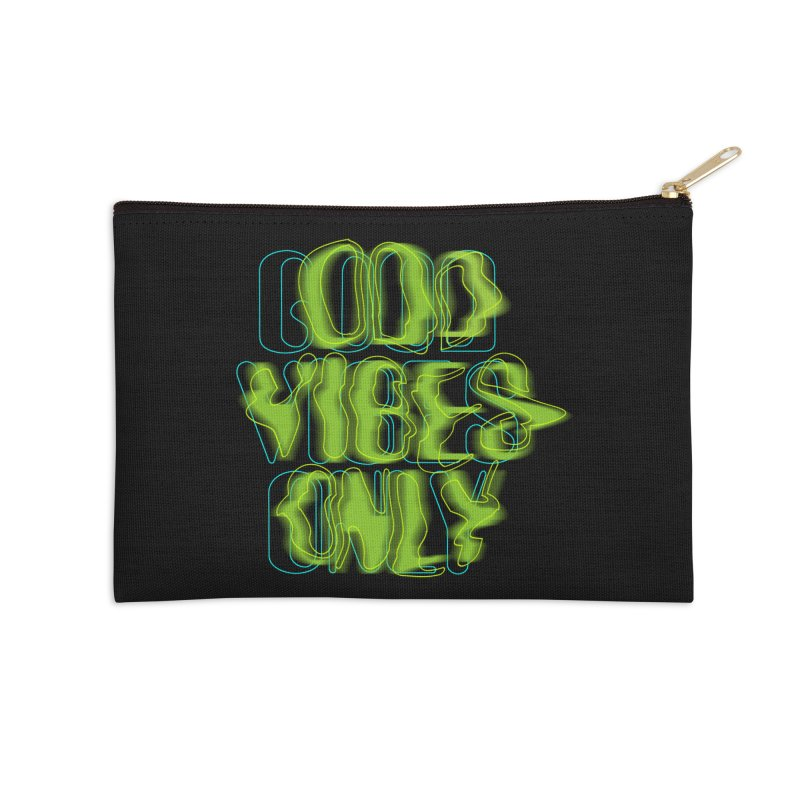 Odd vibes only Accessories Zip Pouch by bulo