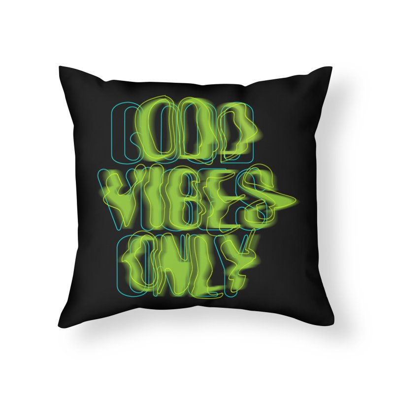 Odd vibes only Home Throw Pillow by bulo