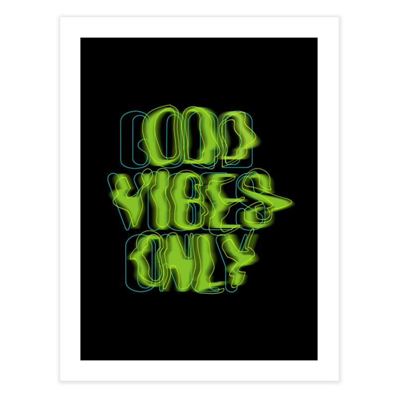 Odd vibes only Home Fine Art Print by bulo
