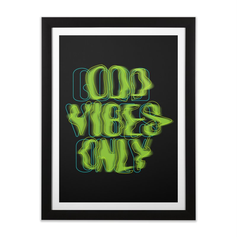 Odd vibes only Home Framed Fine Art Print by bulo