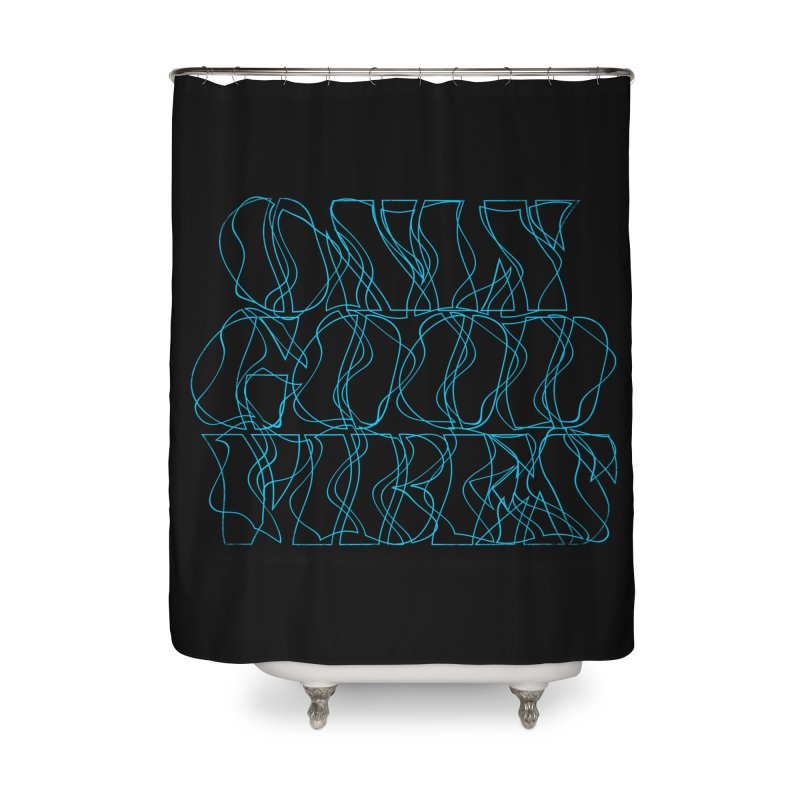Nausea Home Shower Curtain by bulo