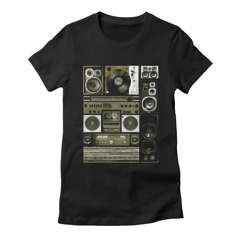 Setup Women's Fitted T-Shirt by bulo