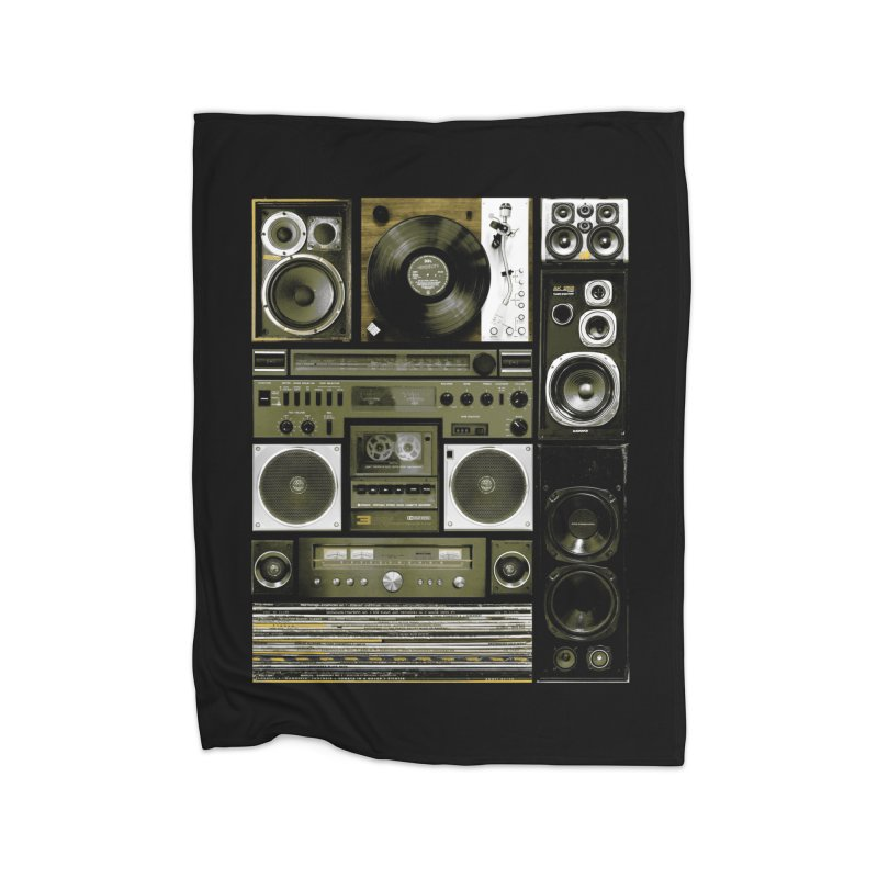 Setup Home Fleece Blanket by bulo