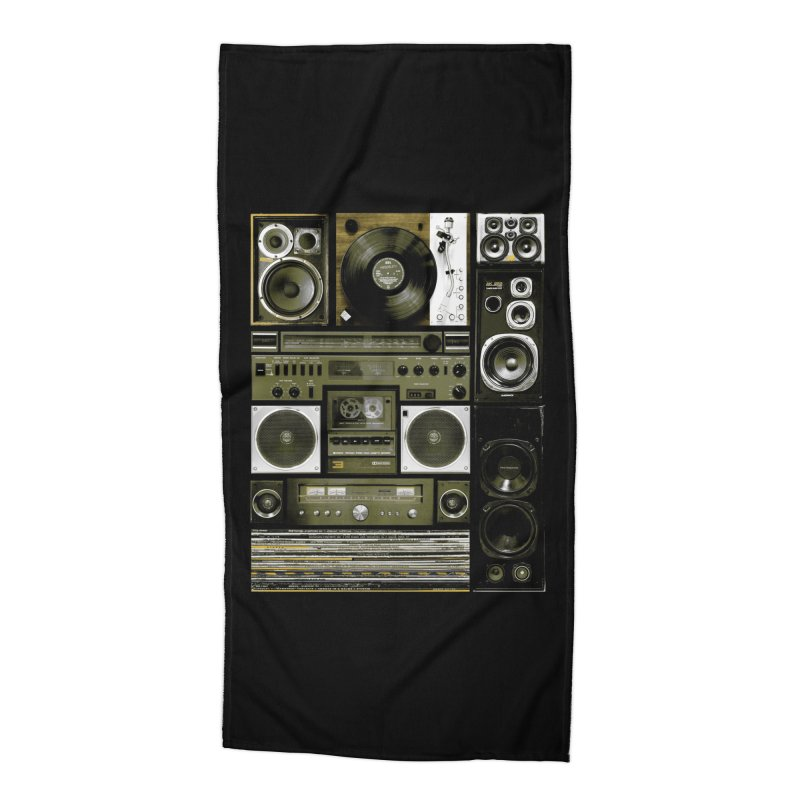 Setup Accessories Beach Towel by bulo