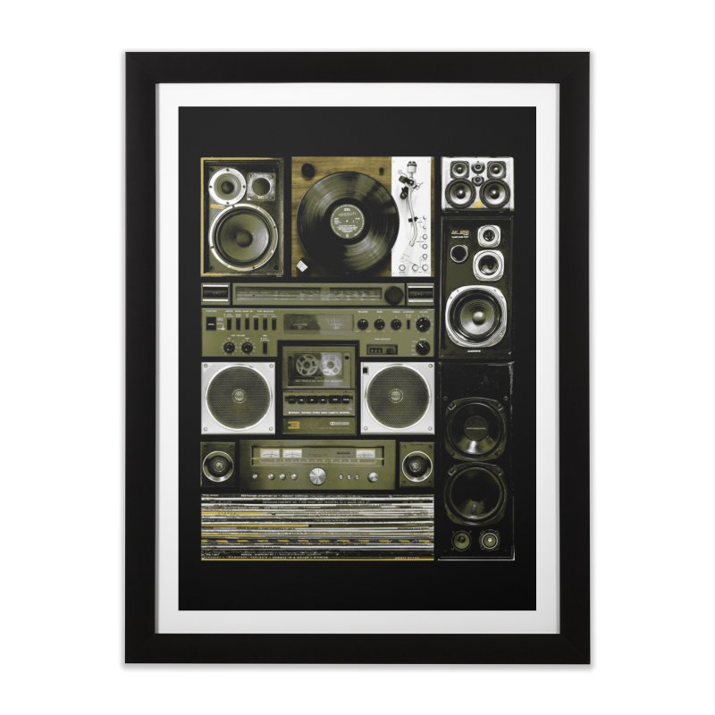 Setup Home Framed Fine Art Print by bulo