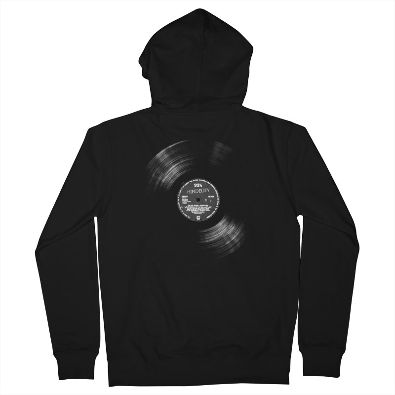 Vinyl Men's Zip-Up Hoody by bulo