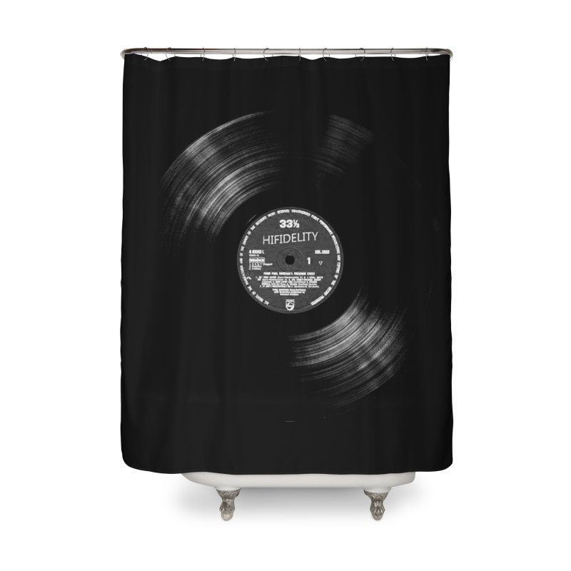 Vinyl Home Shower Curtain by bulo