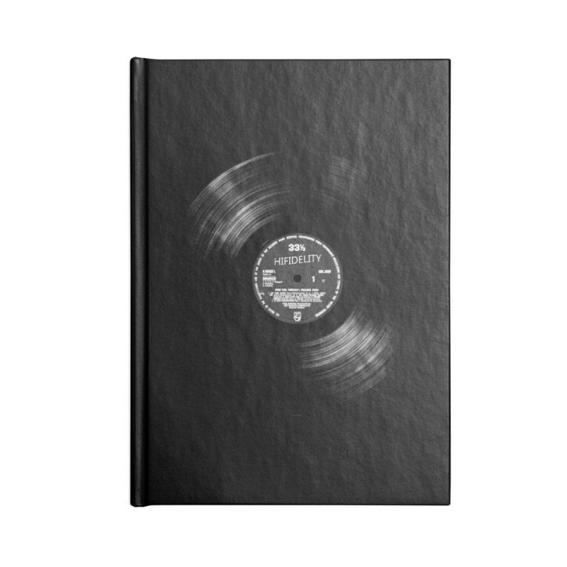 Vinyl Accessories Notebook by bulo