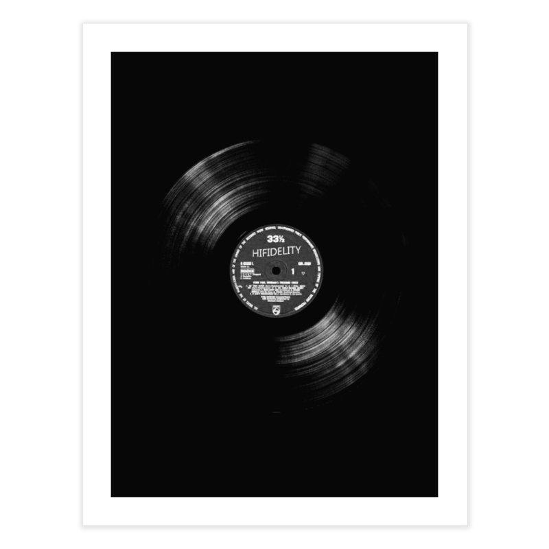 Vinyl Home Fine Art Print by bulo