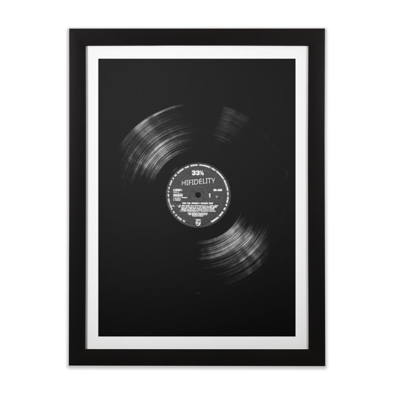 Vinyl Home Framed Fine Art Print by bulo