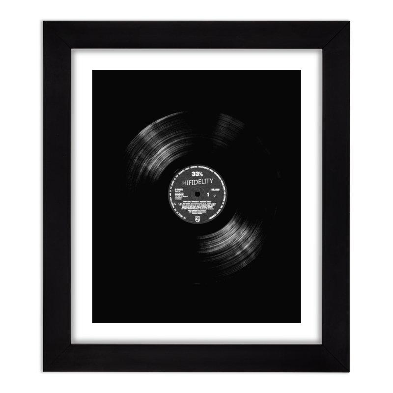 Vinyl Home Framed Fine Art Print by bulo