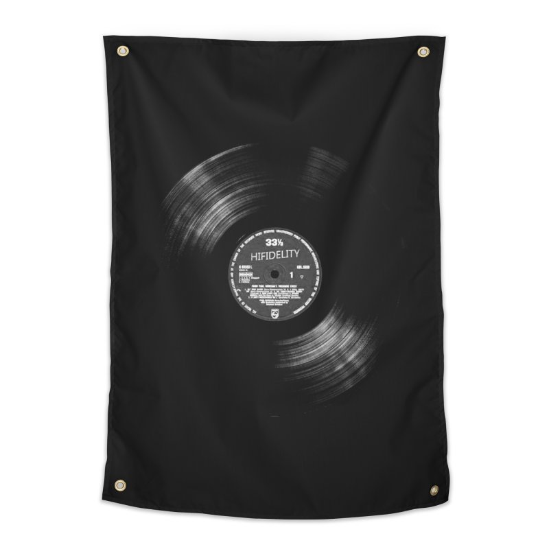 Vinyl Home Tapestry by bulo