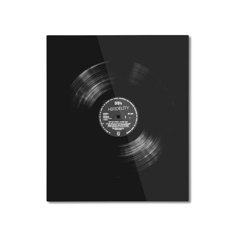 Vinyl Home Mounted Aluminum Print by bulo