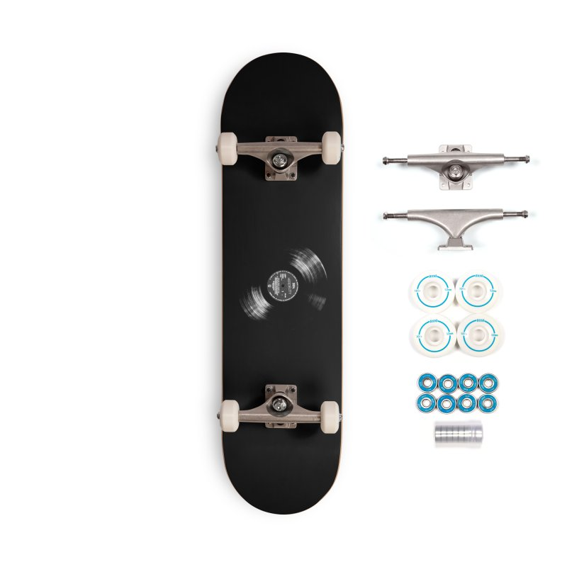 Vinyl Accessories Skateboard by bulo