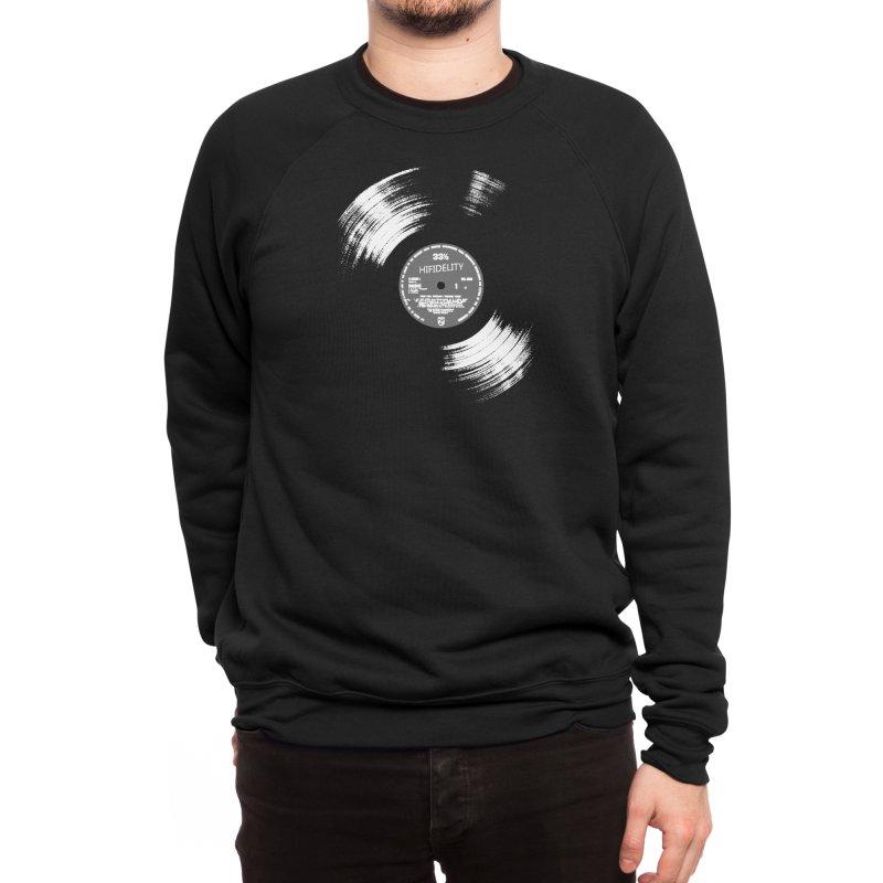 Vinyl Men's Sweatshirt by bulo