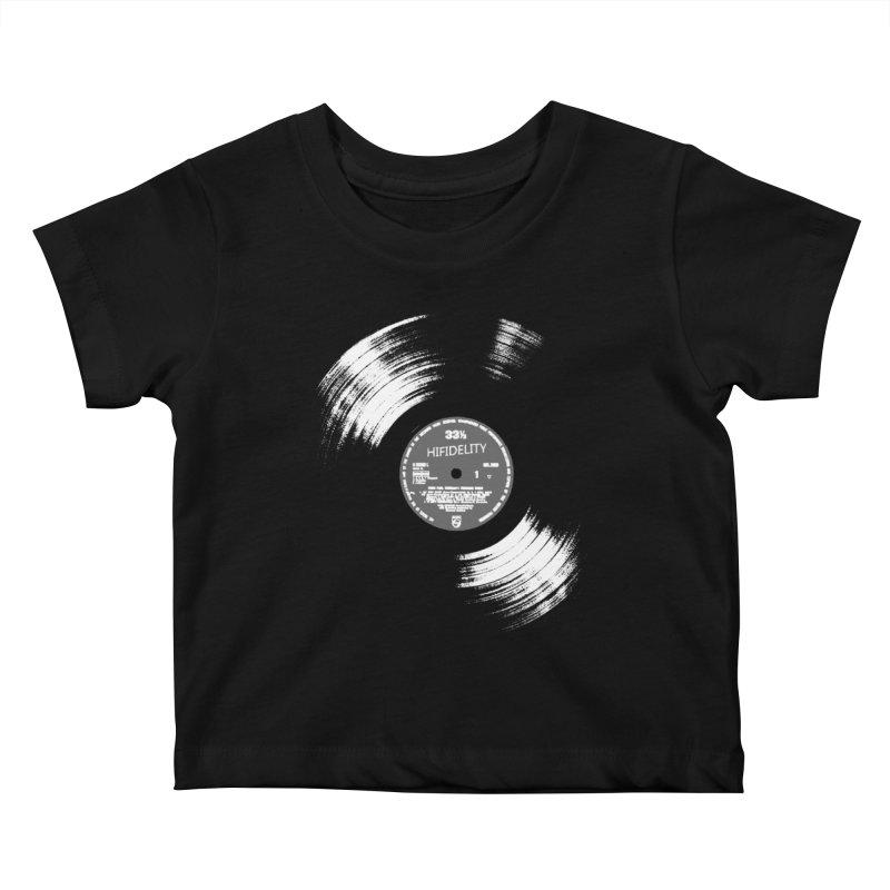 Vinyl Kids Baby T-Shirt by bulo
