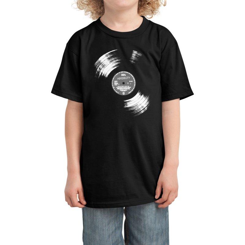 Vinyl Kids T-Shirt by bulo