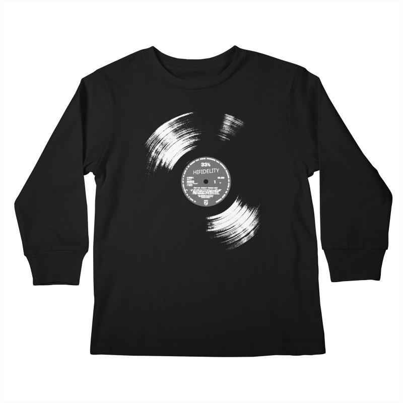 Vinyl Kids Longsleeve T-Shirt by bulo
