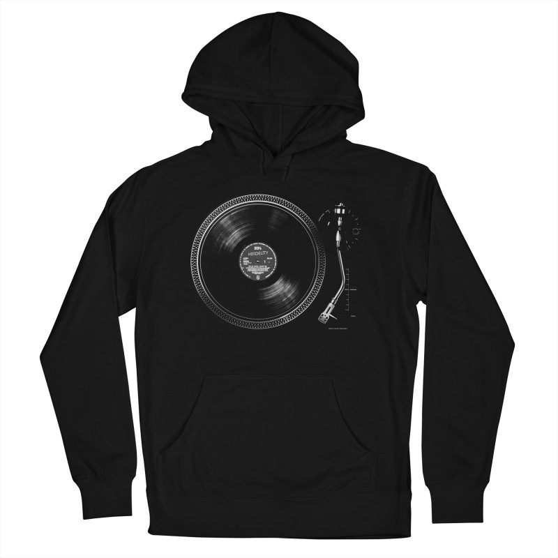 Turntable Men's Pullover Hoody by bulo