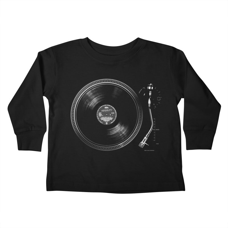 Turntable Kids Toddler Longsleeve T-Shirt by bulo