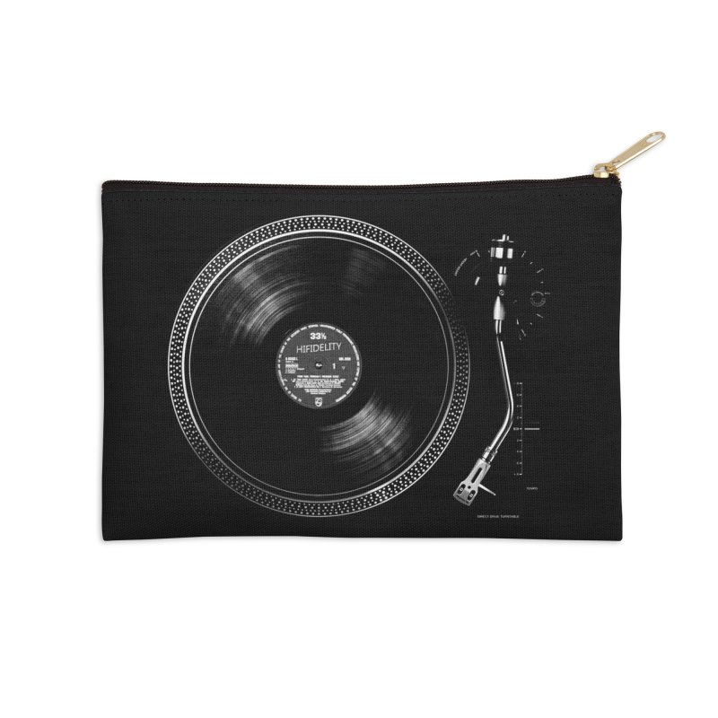 Turntable Accessories Zip Pouch by bulo