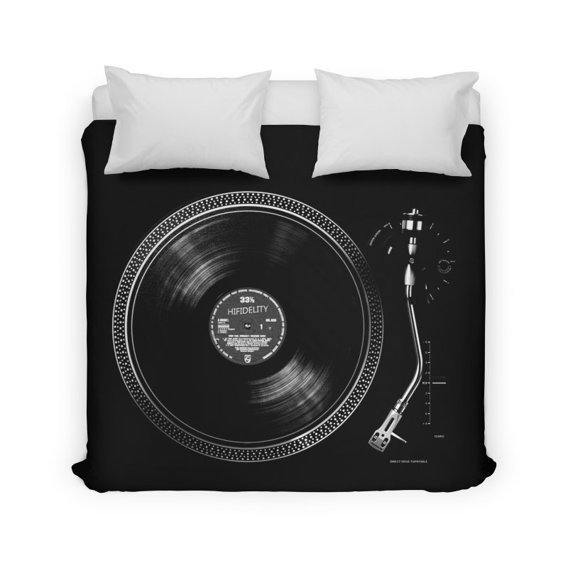 Turntable Home Duvet by bulo