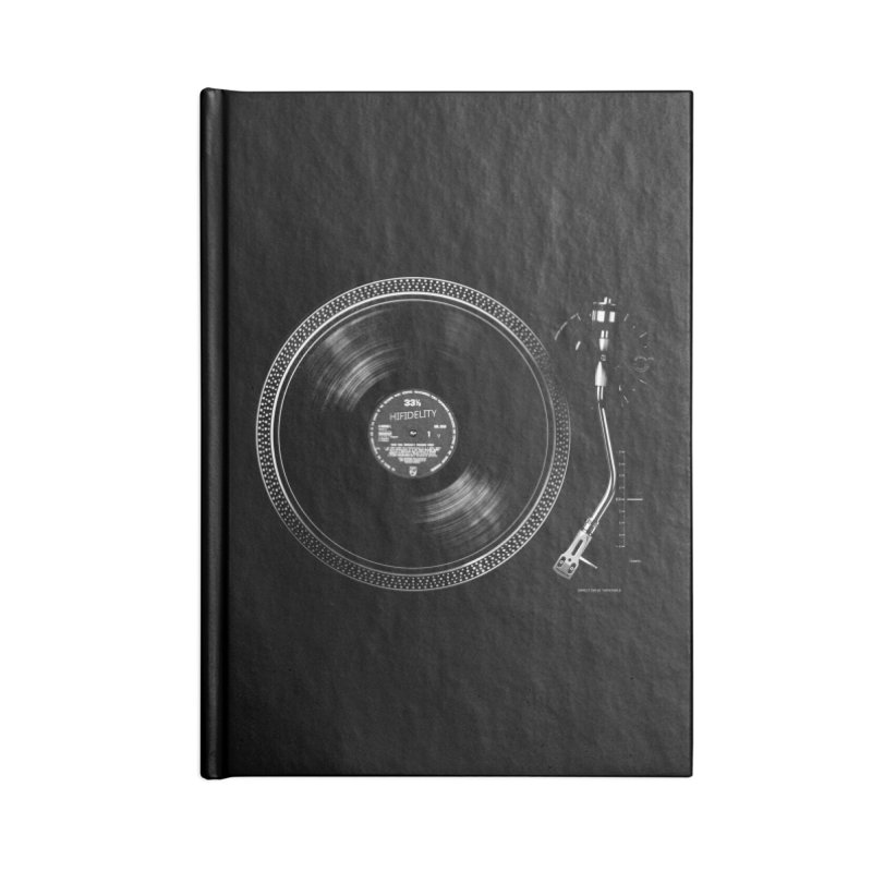 Turntable Accessories Notebook by bulo