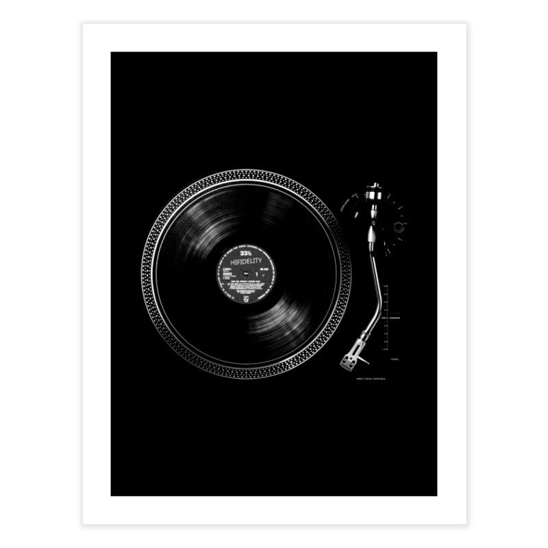 Turntable Home Fine Art Print by bulo