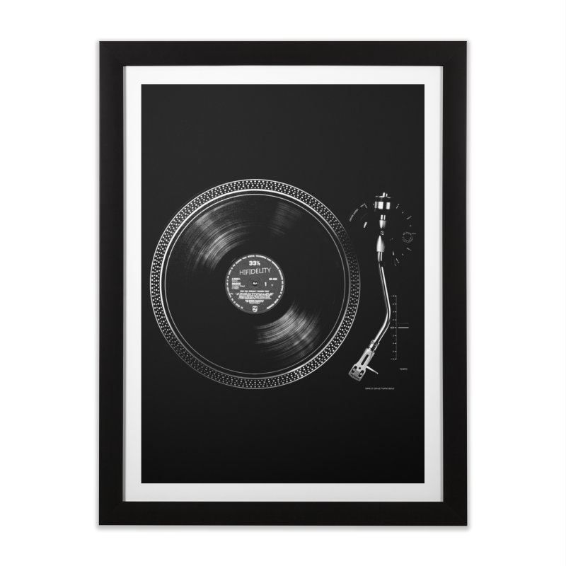 Turntable Home Framed Fine Art Print by bulo