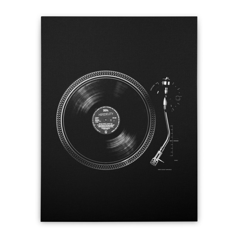 Turntable Home Stretched Canvas by bulo