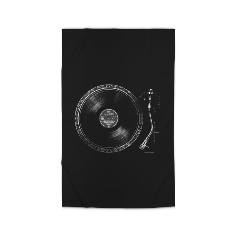 Turntable Home Rug by bulo