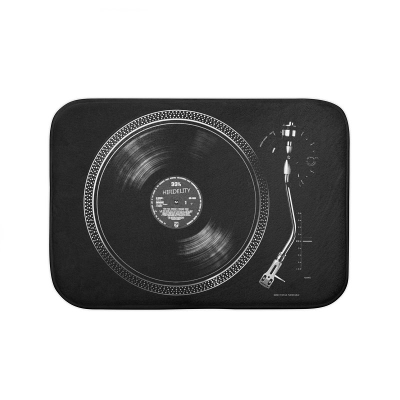 Turntable Home Bath Mat by bulo