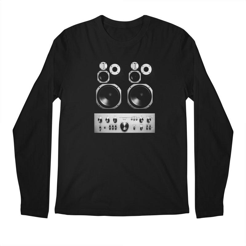 Hifi face Men's Longsleeve T-Shirt by bulo