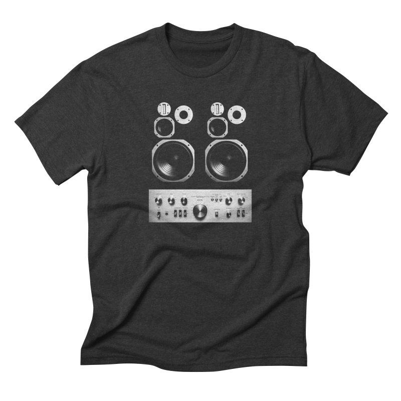 Hifi face Men's Triblend T-Shirt by bulo