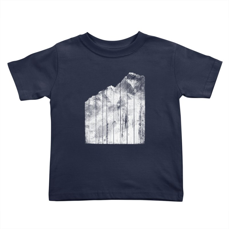 Mountain Kids Toddler T-Shirt by bulo