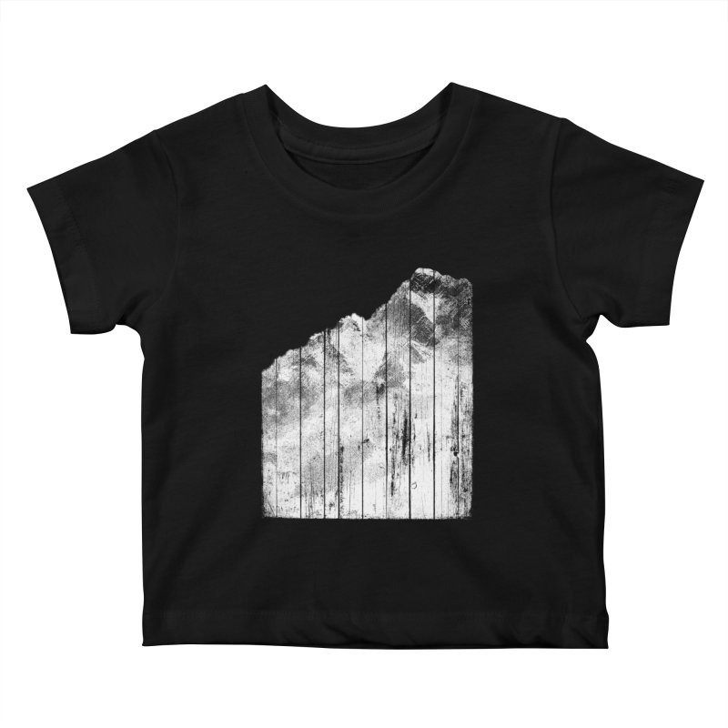 Mountain Kids Baby T-Shirt by bulo
