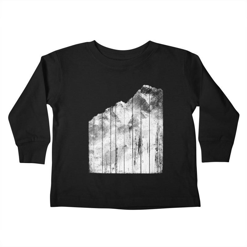 Mountain Kids Toddler Longsleeve T-Shirt by bulo