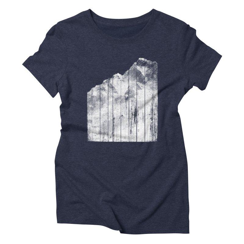 Mountain Women's Triblend T-Shirt by bulo