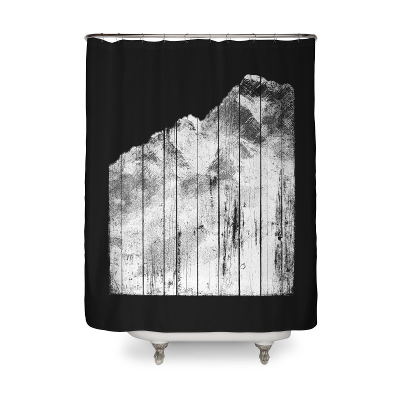 Mountain Home Shower Curtain by bulo