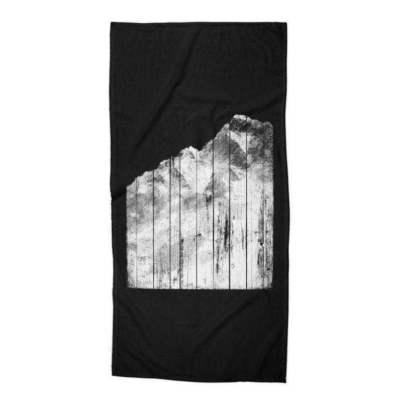 Mountain Accessories Beach Towel by bulo
